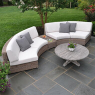 Kingsley Bate Sag Harbor Curved Sectional