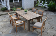 """Furniture Cover for Kingsley Bate Tuscany 96"""" Rectangular Table With 6-8 Chairs(TN96)"""