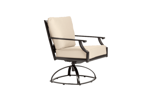 brown jordan coast cushion swivel rocking dining chair into the