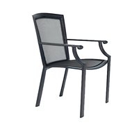 Brown Jordan Coast Parabolic Sling Dining Arm Chair