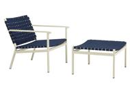 Brown Jordan Flex Suncloth Strap Lounge Chair
