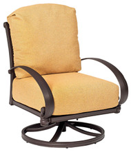 Woodard Holland Swivel Rocking Lounge Chair