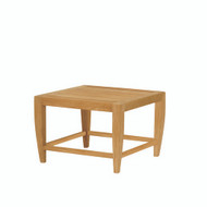 Kingsley Bate Amalfi Side Table - Modern Teak Outdoor Side Table