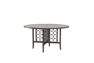 "Brown Jordan Luna 54"" Round Dining Table with Umbrella Hole"