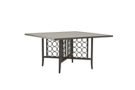 "Brown Jordan Luna 56"" Square Dining Table with Umbrella Hole"