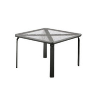 "Brown Jordan Quantum 22"" Square Occasional Table"