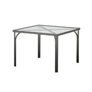 "Brown Jordan Quantum 42"" Square Dining Table"