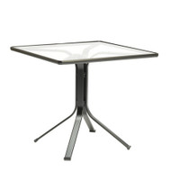 "Brown Jordan Quantum 42"" Square Pedestal Dining Table"