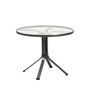 "Brown Jordan Quantum 30"" Round Pedestal Dining Table"