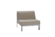 Brown Jordan Parkway Modular Sectional Armless Chair