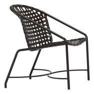 Brown Jordan Kantan Vinyl Strap Arm Chair