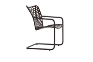 Brown Jordan Tamiami Vinyl Lace Spring Chair
