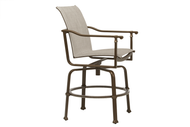 Brown Jordan Fremont Sling Swivel Balcony Chair
