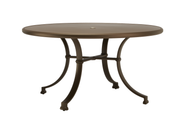 "Brown Jordan Fremont 54"" Round Dining Table"