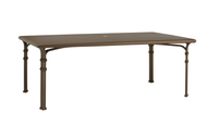 "Brown Jordan Fremont 98"" Rectangular Dining Table"