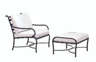Brown Jordan Roma Vinyl Lounge Chair