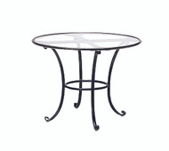 "Brown Jordan Roma 30"" Round Dining Table"
