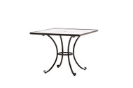 "Brown Jordan Roma 36"" Square Dining Table"