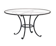 "Brown Jordan Roma 48"" Round Dining Table"