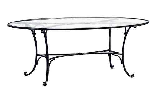 Brown Jordan Roma 72 Quot Oval Dining Table Into The Garden