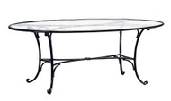 "Brown Jordan Roma 72"" Oval Dining Table"