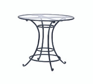"Brown Jordan Roma 36"" Round Bar Table"