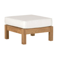 Kingsley Bate Chelsea Outdoor Teak Sectional Ottoman