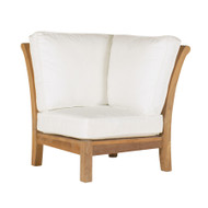 Kingsley Bate Chelsea Outdoor Teak Sectional Corner Chair