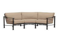 Brown Jordan Fremont Cushion Curved Sofa