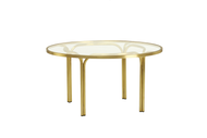 Brown Jordan Kantan Brass Chat Table