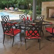 Woodard Apollo Seven Piece Dining Dining Set