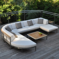 Furniture Cover Left Facing End Panel for Kingsley Bate Tivoli Sectional