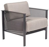 Woodard Jax Modern Mesh Outdoor Lounge Chair