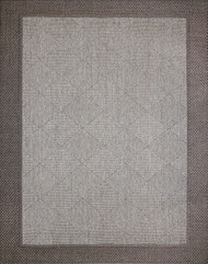 Megalo Gray/Charcoal Outdoor Rug