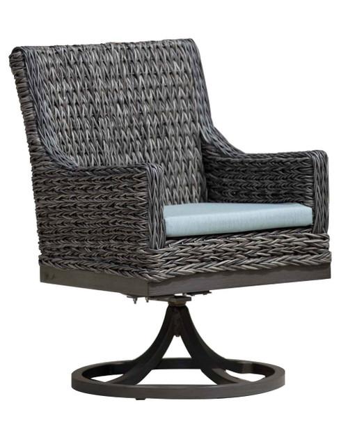 Charmant ... Ratana Boston Swivel Dining Arm Chair. Image 1