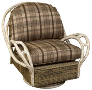 Woodard River Run Swivel Butterfly Lounge Chair