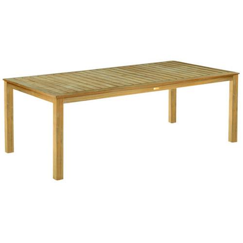 kingsley bate wainscott 72 rectangular teak outdoor dining table. Black Bedroom Furniture Sets. Home Design Ideas