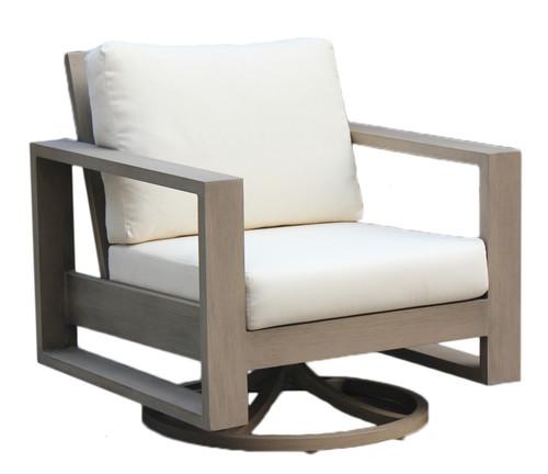 Ratana Park Lane Swivel Rocking Lounge Chair Into The