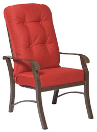 Woodard Cortland High Back Dining Arm Chair