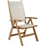 Kingsley Bate St Tropez Adjustable Outdoor/Patio Chair