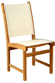 Kingsley Bate St Tropez Teak Outdoor Dining Side Chair