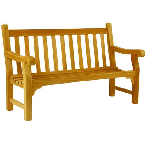 Home · Outdoor Furniture; Kingsley Bate Hyde Park 5' Bench. Image 1 - Kingsley Bate Hyde Park 5' Bench - Into The Garden Outdoor