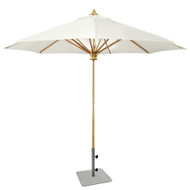 Kingsley Bate 10' Teak Market Umbrella