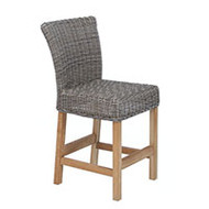 Kingsley Bate Sag Harbor Wicker Counter Chair
