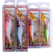 Hinomiya Ultrastick 16 Squid Jigs Four Sizes 2.0 - 3.5, 4 Colours Fluoro