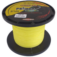 GSR PEFiber Braid Fishing Line 10lb 300m High Visibility Yellow 100% UHMWPE Dyneesi