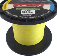 LR Braid Fishing Line 3lb 300m High Visibility Yellow 100% UHMWPE Dyneesi
