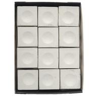 Silver Cup Chalk, White, 12-Piece Box