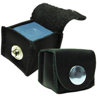 Deluxe Leather Chalk Holder, Black