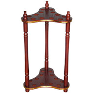 Sterling Economy Floor Stand, Mahogany, 12 Cue